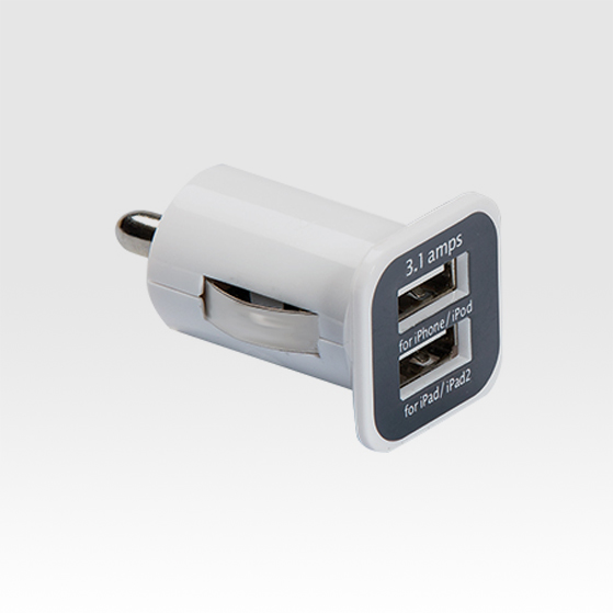 Car lighter adapter for charging when driving