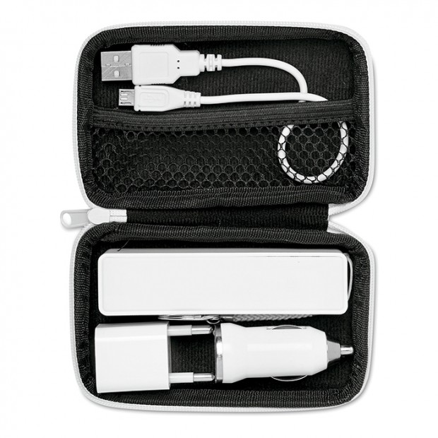 Power bank travel set example 1