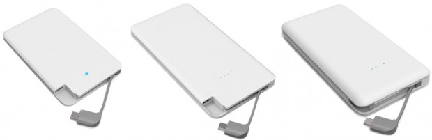C25, C50 and C100 power banks